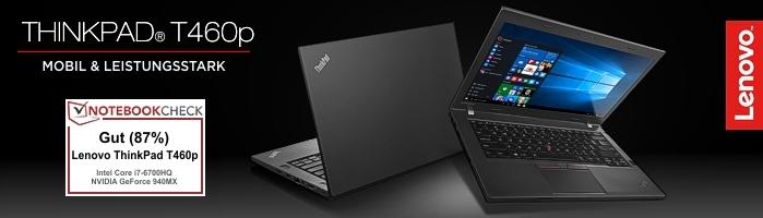 Lenovo ThinkPad® T460p - Mit leistungsstarkem QuadCore Prozessor