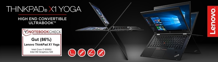 Lenovo Campus ThinkPad® X1 Yoga - Convertible UltraBook™ der Extraklasse