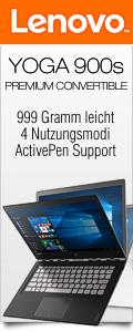 Das neu Yoga 900s Premium Convertible mit nur 999 Gramm federleicht