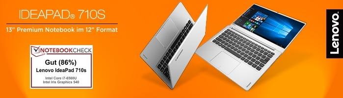 Lenovo IdeaPad™ 710S-13 - Hochwertiges Subnotebook mit extrem schmalem Displayrahmen