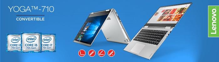 Lenovo Yoga 710 - Modernes Convertible Mit Intel Prozessoren der 6.ten Generation