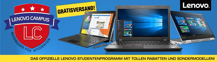 Lenovo University & Campus Programm