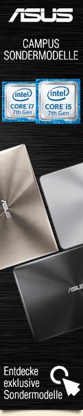 Asus Education & Campus Sondermodelle Q4/2016 mit Intel Prozessoren der 7.ten Generation