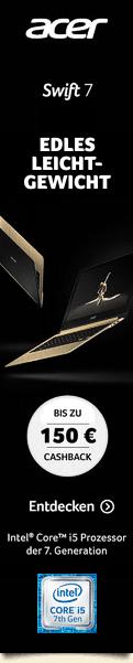Acer Ca$hback Aktion (01.03. bis 30.04.2017)