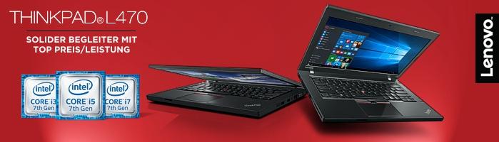 Lenovo Campus ThinkPad® L470 - Zuverlässiger Begleiter für dein Studium