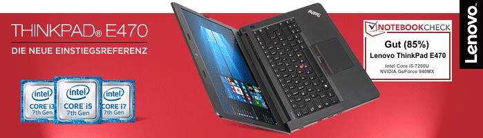 Lenovo ThinkPad® E470 - Zuverlässiger Begleiter für dein Studium