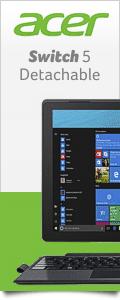 Acer Switch 5 - Modernes Detachable mit passiver Kühlung und hintergrundbeleuchteter Tastatur