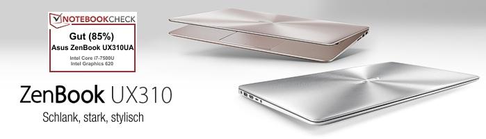 Asus ZenBook™ UX310 - Schlank, stark, stylisch