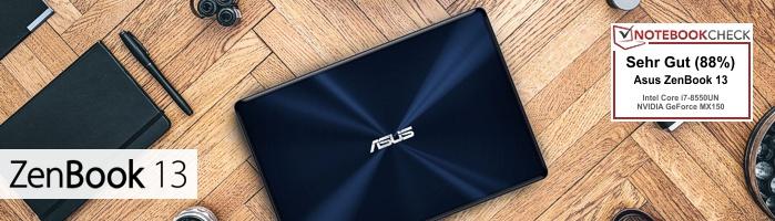 Asus ZenBook™ 13 - Blitzschnell für alles bereit