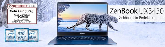Asus ZenBook™ UX3430 - Schönheit in Perfektion