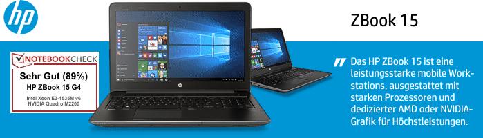HP ZBook 15 - Mobile Workstation der Extraklasse