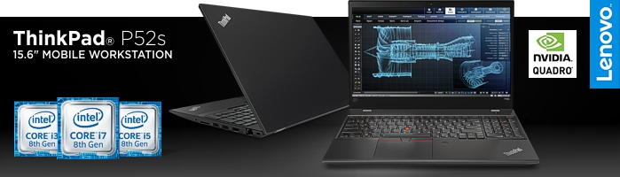 Lenovo ThinkPad P52s - Leitungsstark & schlank