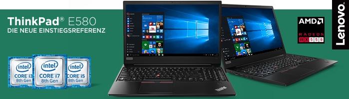 Lenovo ThinkPad® E580 - Robuster Einsteiger