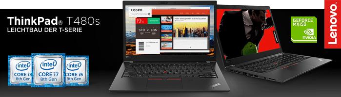 Lenovo ThinkPad® T480s - Das beliebteste ThinkPad® im Lenovo Studentenprogramm!