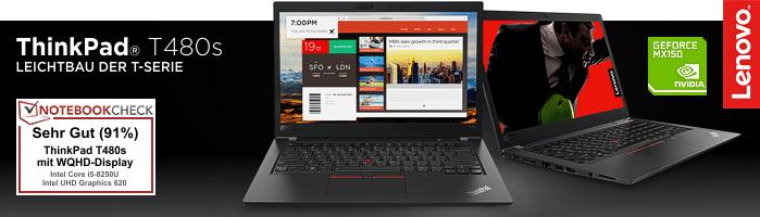 Lenovo Campus ThinkPad® T480s - Das beliebteste ThinkPad® im Lenovo Studentenprogramm!
