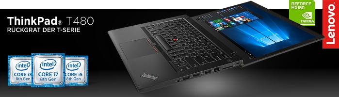 Lenovo ThinkPad® T480 - Neuer Shooting-Star im Lenovo Studentenprogramm!
