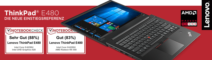Lenovo Campus ThinkPad® E480 - Zuverlässiger Begleiter für dein Studium