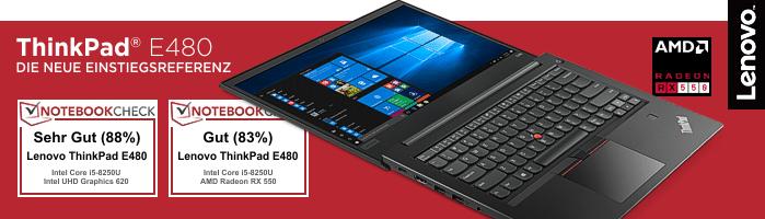 Lenovo ThinkPad® E480 - Zuverlässiger Begleiter für dein Studium