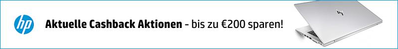 Aktuelle HP Cashback Aktionen - Jetzt bis zu €100 sparen!