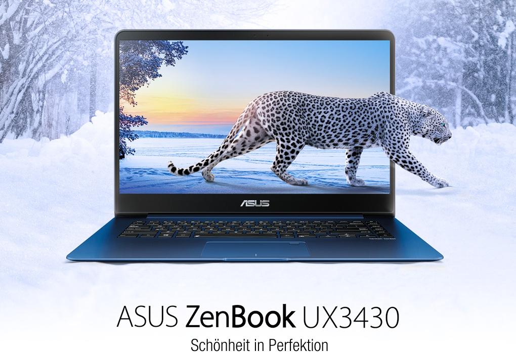 "Asus Education ZenBook™ UX3430UA-GV334 ""Campus Edition"" (blau, Alu-Unibody)"