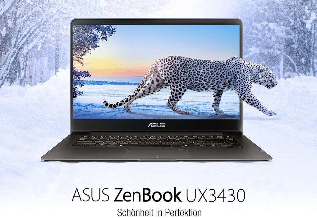 "Asus Education ZenBook™ UX3430UA-GV340 ""Campus Edition"" (grau, Alu-Unibody)"