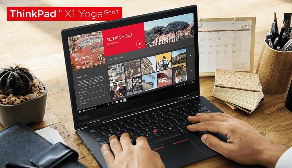 Anschlüsse des ThinkPad X1 Yoga 2018