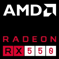 Dedizierte AMD Radeon™ RX550 Grafik
