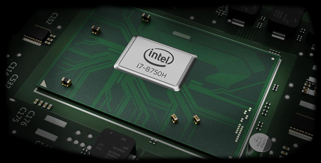 "kraftvoller Intel® Quad- oder Hexacore Prozessor der 8. Generation ""Coffeelake"""