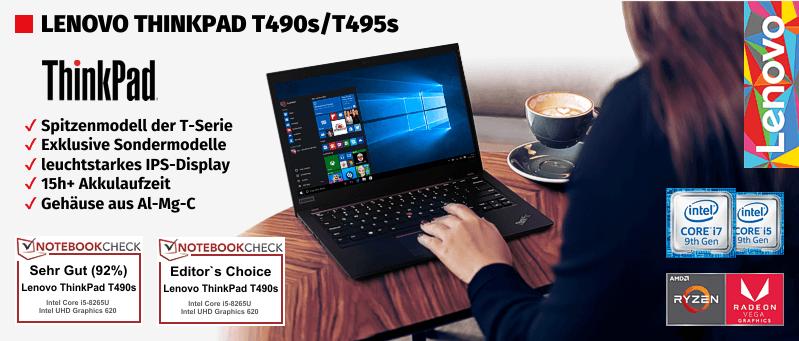 Lenovo ThinkPad® T490s-Serie