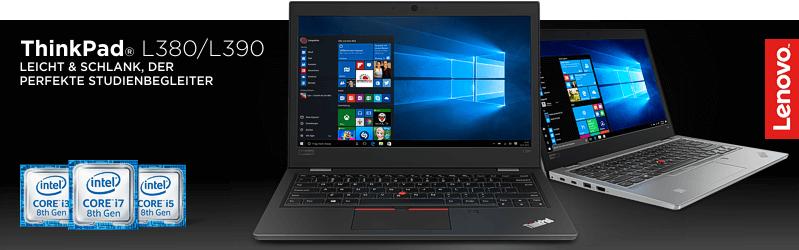 Lenovo Campus ThinkPad® L380 Serie für Studenten