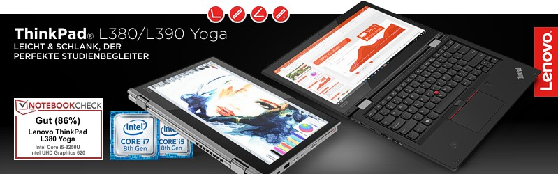 Lenovo ThinkPad® L380 Yoga Serie