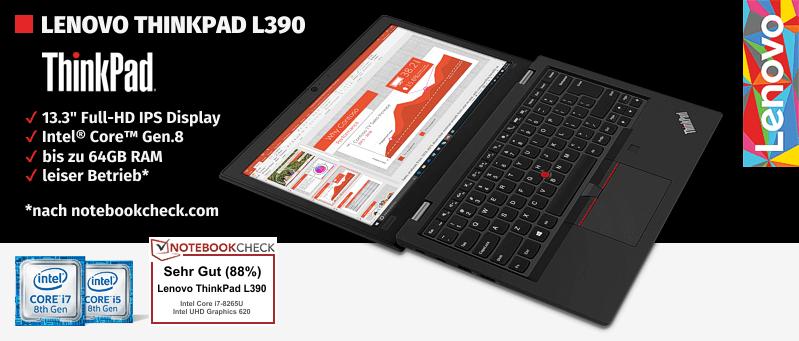 Lenovo Campus ThinkPad® L390 Serie für Studenten