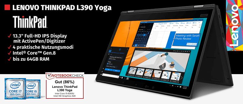 Lenovo Campus ThinkPad® L380/L390 Yoga Serie für Studenten