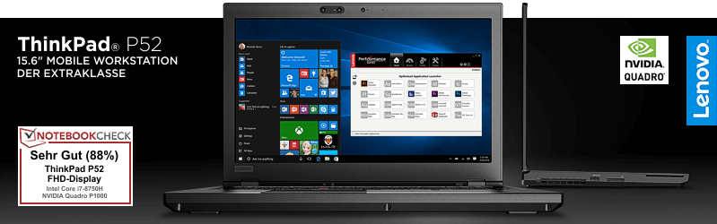 Lenovo Campus ThinkPad® P52 Serie