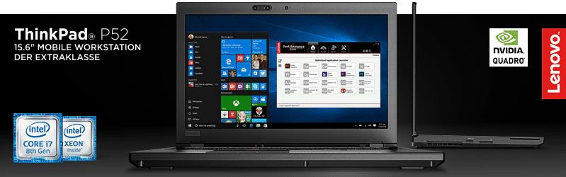 Lenovo ThinkPad® P52 Serie
