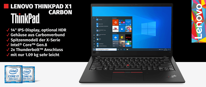 Lenovo Campus ThinkPad® X1 Carbon