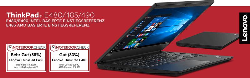 Lenovo Campus ThinkPad® E480 Serie für Studenten