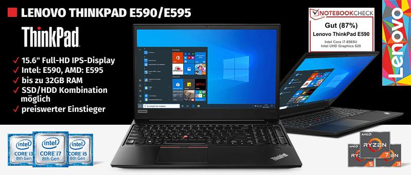 Lenovo Campus ThinkPad® E590 Serie für Studenten