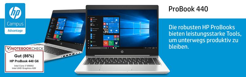 HP ProBook 440 G6 für Studenten