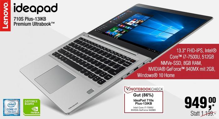 Lenovo Campus IdeaPad 710S Plus-13IKB (silber)