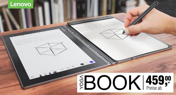 Lenovo Yoga Book entdecken...