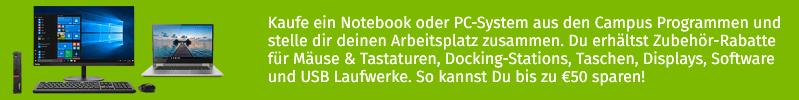 Semesterstart Zubehör-Rabattaktion!